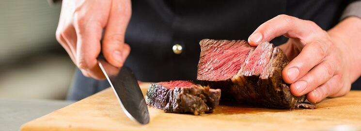 Kok-snijdt-vlees
