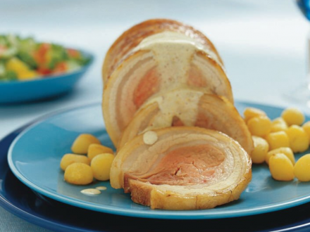 rollade mosterdroomsaus